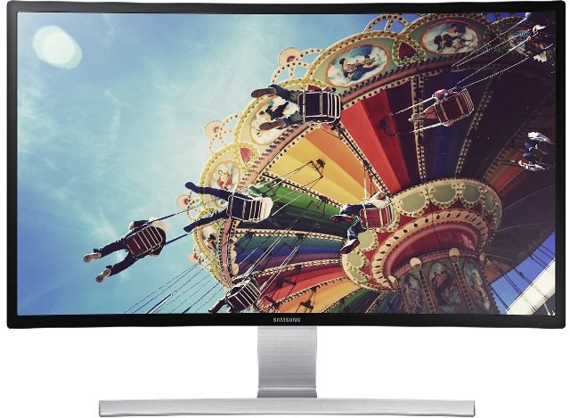 Samsung 27-Inch Curved Monitor S27D590CS