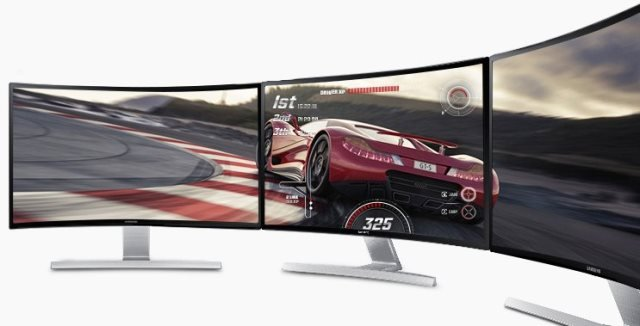 Samsung Curved Monitor S27D590CS-01