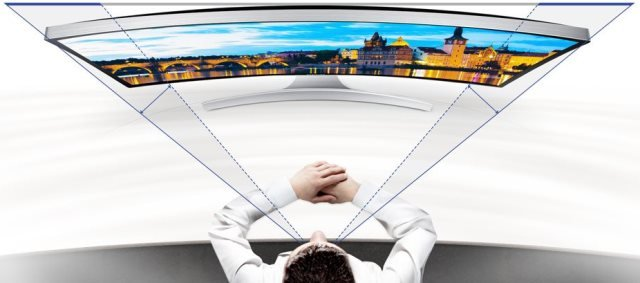 Samsung Curved Monitor S27D590CS-02