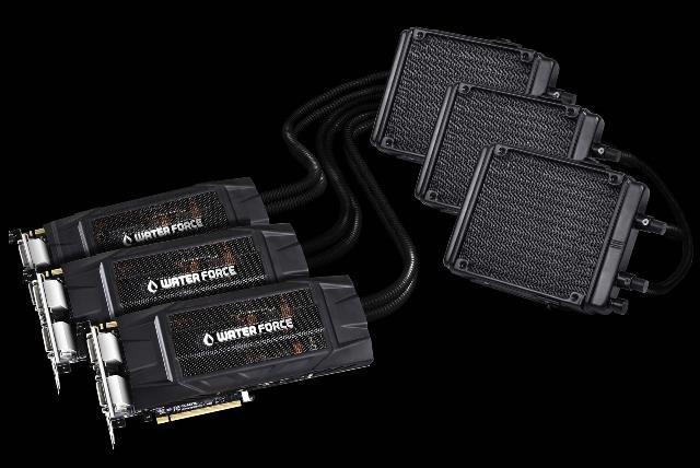gigabyte GV-N980X3WA-4GD waterForceRadiators