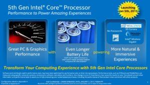 5th Gen Intel Broadwell amazing performance