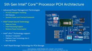 5th gen intel broadwell-u PHC architecture