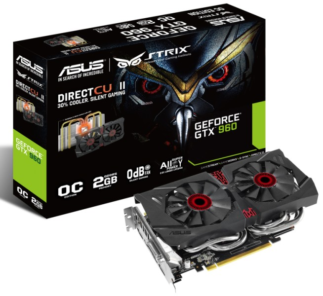 Asus STRIX GTX 960 Unleashed – See Features, Specifications, Price and Availability