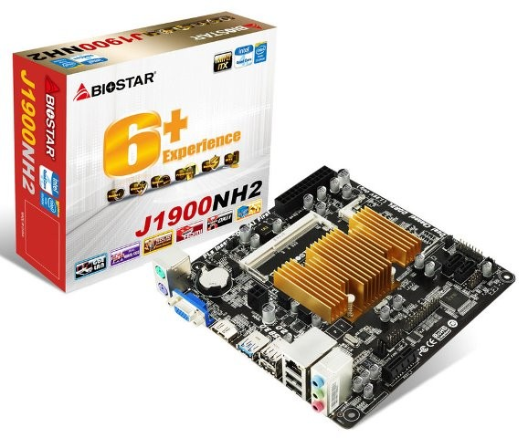 BIOSTAR J1900NH2 mini itx motherboard