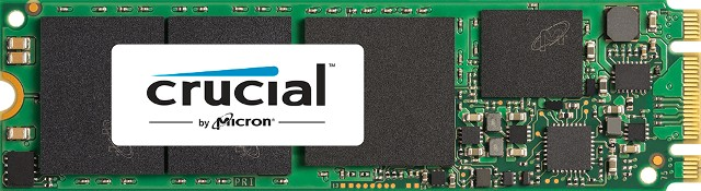 Crucial MX200 M.2 180mm Type 2280 SSD