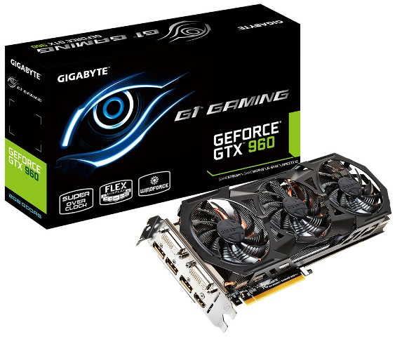 Gigabyte GTX 960 G1 Gaming Lineup Released – See Features, Specifications, Price and Availability