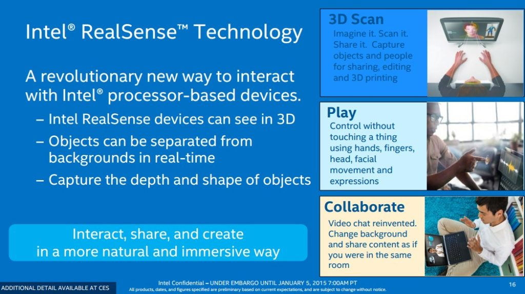 Intel RealSense Tenchnology