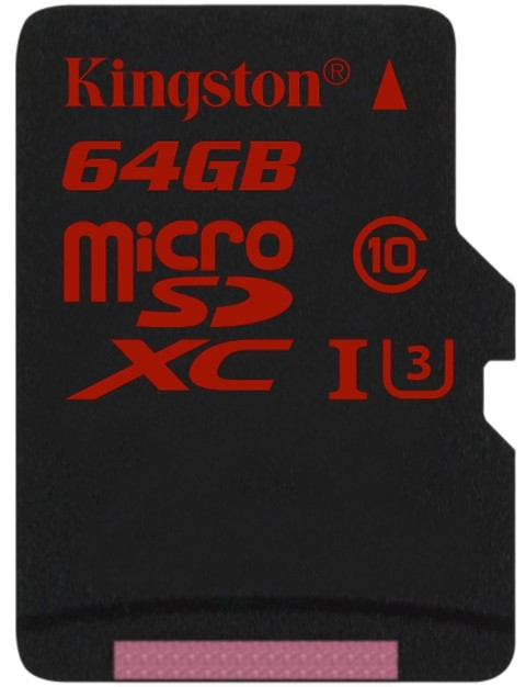 Kingston SDCA3 Ultra High-Speed microSD UHS-1 U3 Released – Great for 4K and HD Video Capture