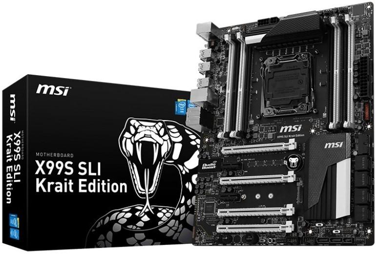 MSI X99S SLI Krait Motherboard-04