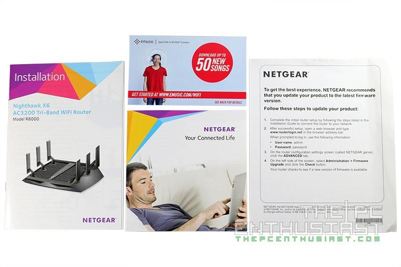 Netgear Nighthawk X6 R8000 Review - AC3200 Tri-Band WiFi Router