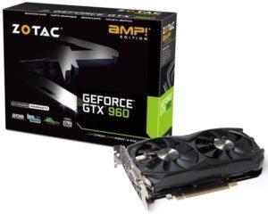 ZOTAC GeForce GTX 960 AMP! Edition (ZT-90303-10M)