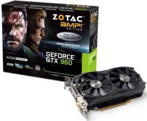 ZOTAC GeForce GTX 960 AMP! Edition (ZT-90307-10M)