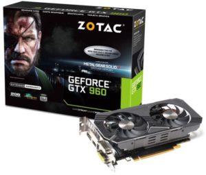 ZOTAC GeForce GTX 960 (ZT-90306-10M)
