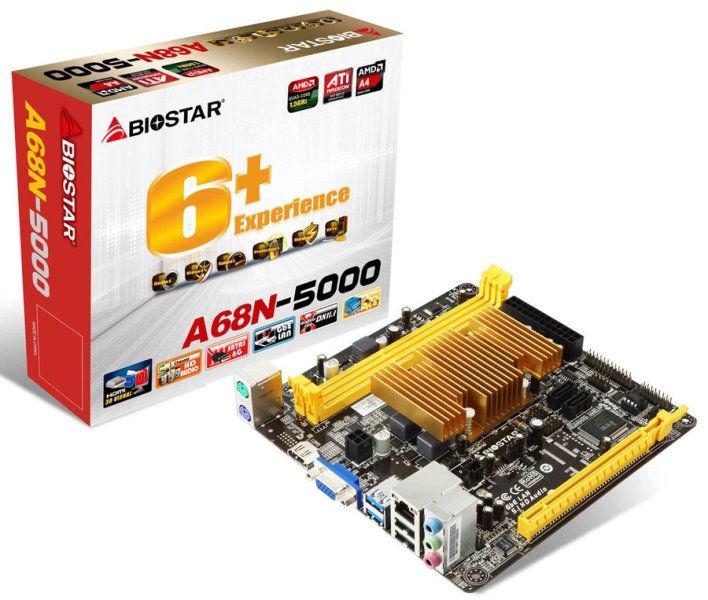 Biostar A68N-5000 Review
