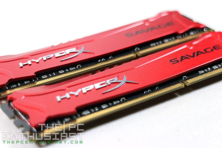 Kingston HyperX Savage DDR3 2400 16GB Memory Kit Review (HX324C11SRK2/16)