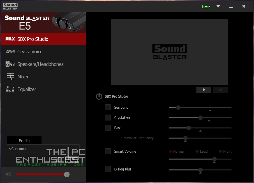 Creative Sound Blaster E5 Review - Portable DAC with