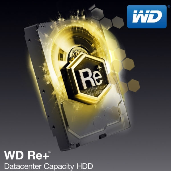 WD Re+ Datacenter Capacity HDD
