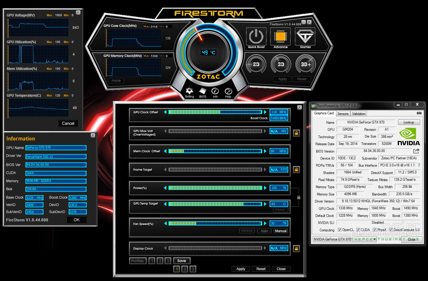 Zotac GeForce GTX 970 AMP! Extreme Core Edition Review - The Faster