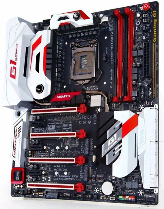 Gigabyte Z170X Gaming G1 Motherboard Revealed Together with Gaming 7, Gaming 5 and Gaming 3