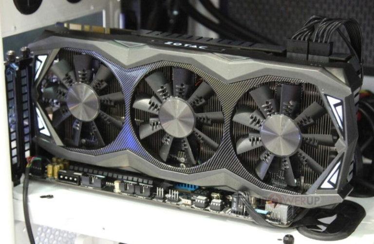 Zotac GeForce GTX 980 Ti AMP! Extreme Edition Demoed At Computex 2015