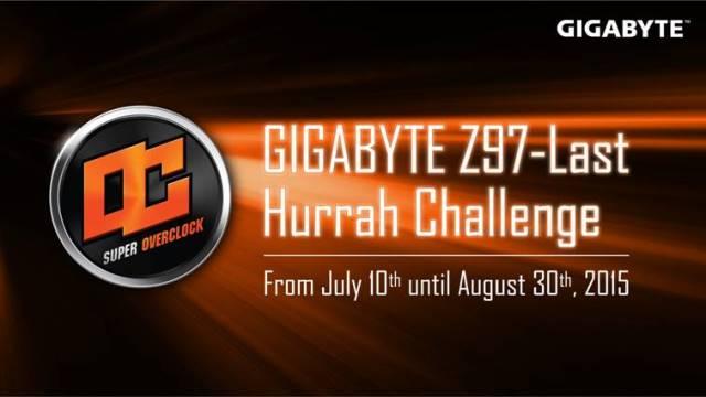 GIGABYTE Hosts Z97-Last Hurrah Challenge