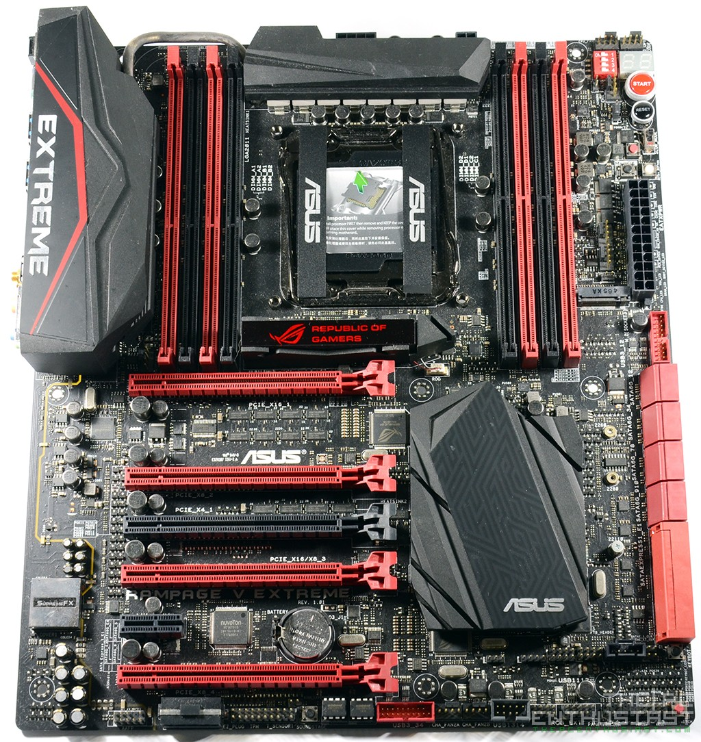 Asus Rampage V Extreme X99 Motherboard Review Edition 10 Maximus 07