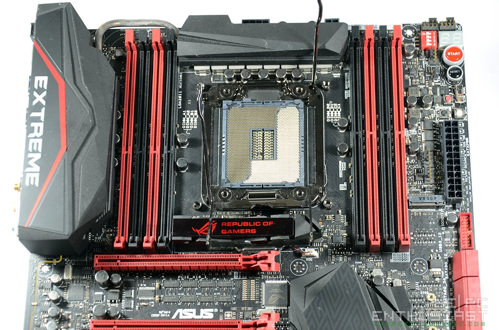 Asus Rampage V Extreme X99 Motherboard Review