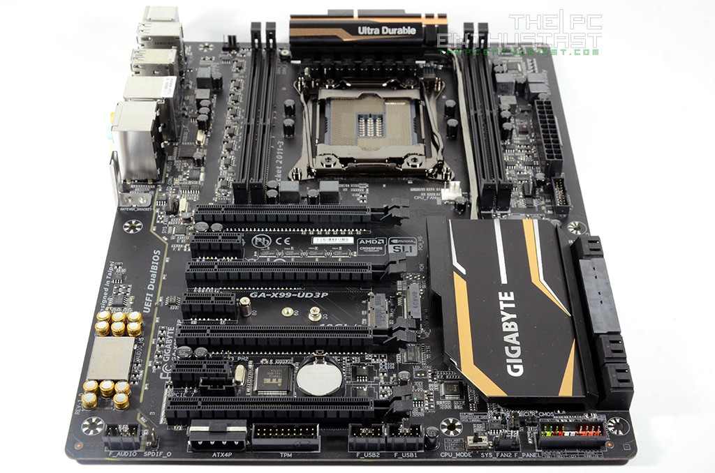 Gigabyte X99-UD3P Motherboard Review, Your Budget Intel X99