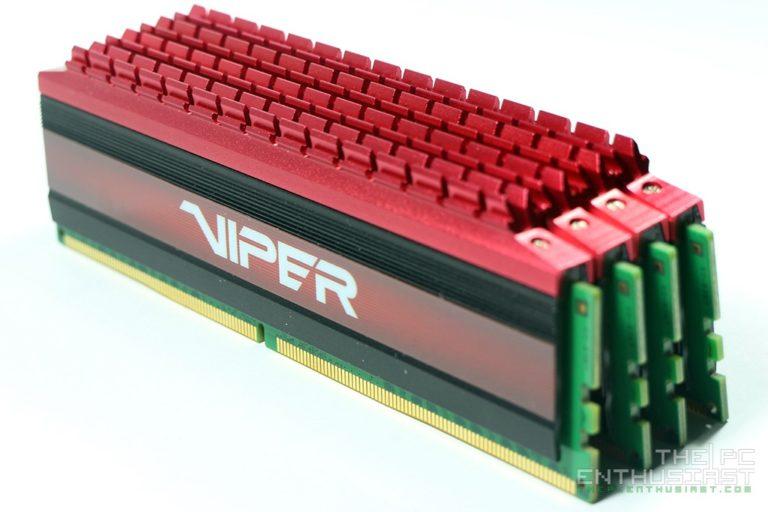Patriot Viper 4 DDR4 2666MHz 16GB Memory Review