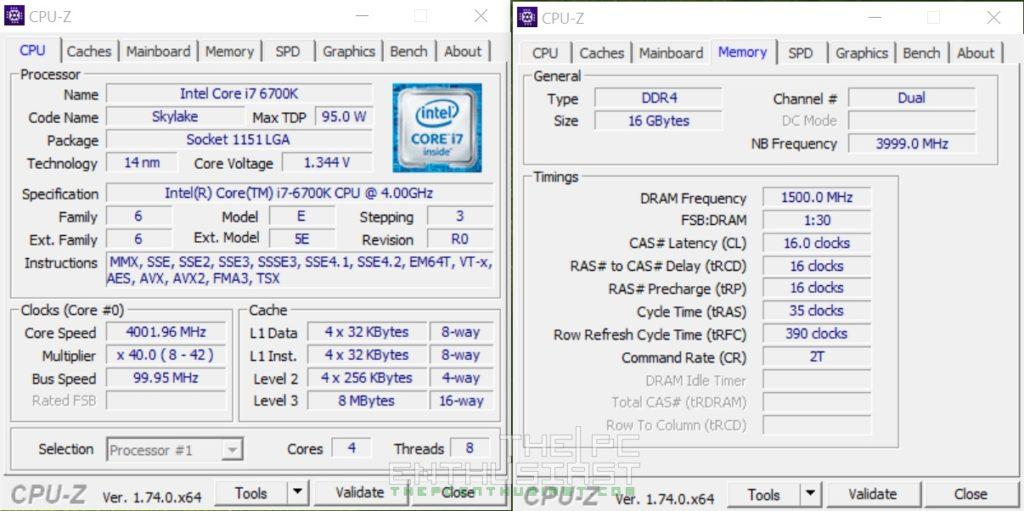 ADATA XPG Z1 DDR4 OC 3000MHz 1.35v