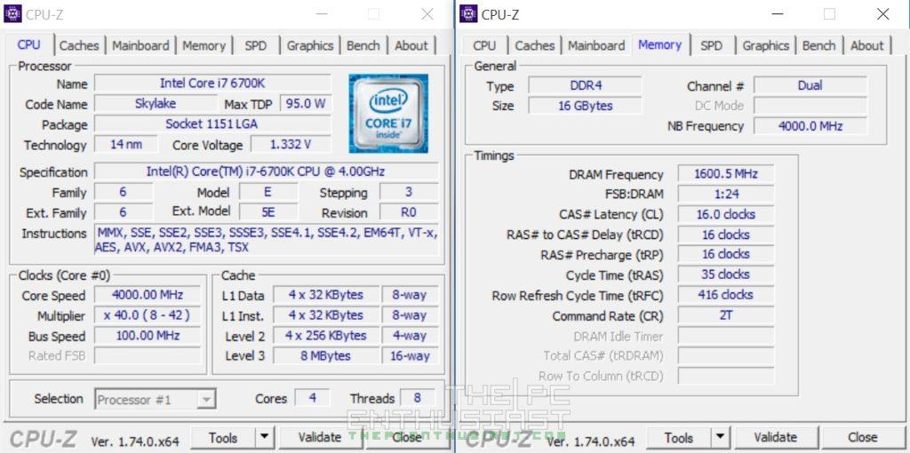 ADATA XPG Z1 DDR4 OC 3200MHz 1.35v