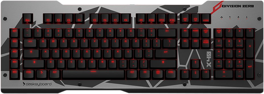 Das Keyboard Division Zero X40 Mechanical Gaming Keyboard-01