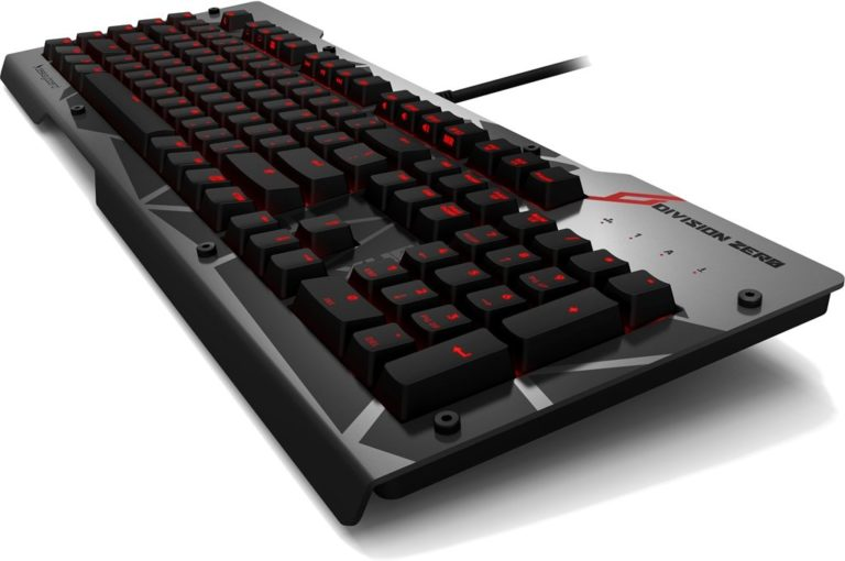 Das Keyboard Division Zero Pro Gaming Gear Line Unleashed