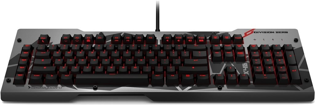 Das Keyboard Division Zero X40 Mechanical Gaming Keyboard-04