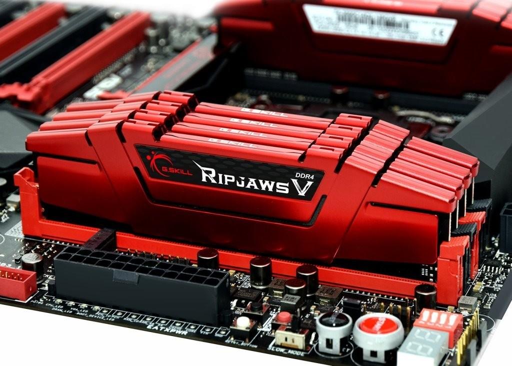 G.Skill Ripjaws V DDR4-3000MHz 128GB Red
