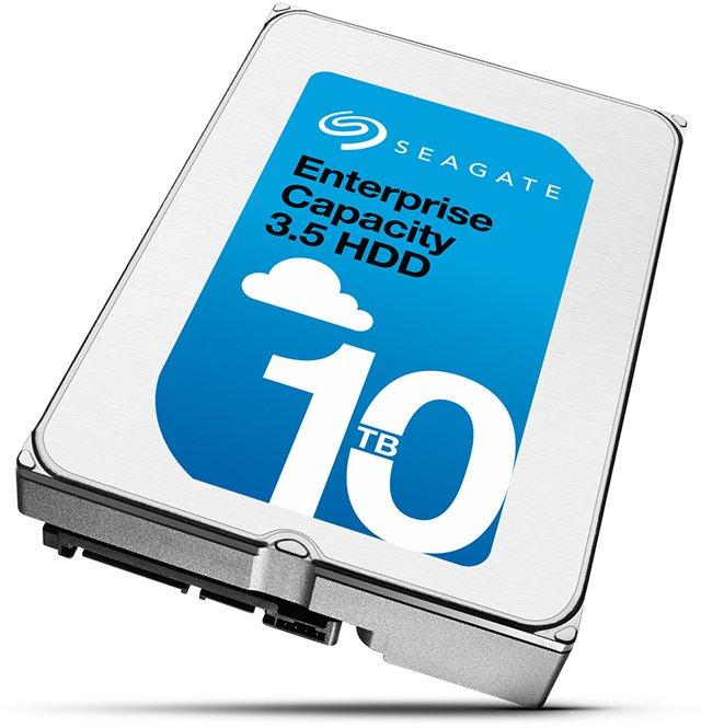 Seagate Enteprise 10TB Helium HDD