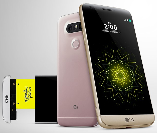 LG G5 Android Smartphone Released