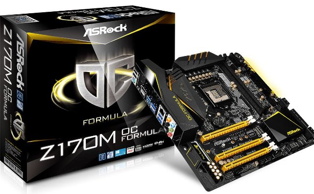 ASRock Z170M OC Formula Micro-ATX Motherboard Released – See Specs, Features and Price