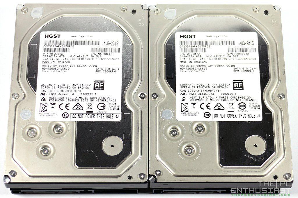 HGST Deskstar NAS 6TB HDD Review