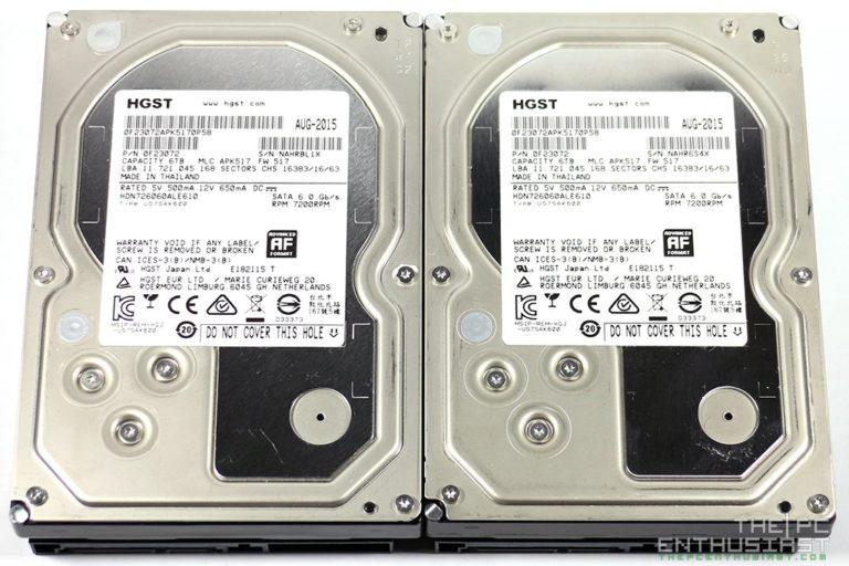 HGST Deskstar NAS 6TB Hard Drive Review (HDN726060ALE610)