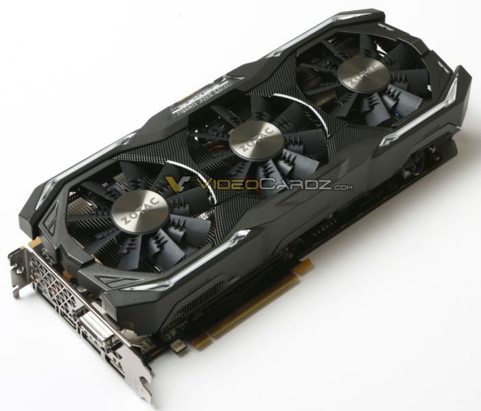 Zotac GeForce GTX 1080 AMP! and GTX 1080 AMP! Extreme Editions Photos Surfaced