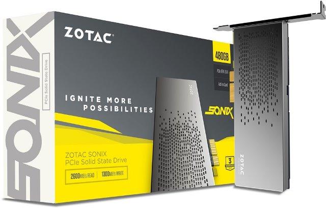 Zotac SONIX 480GB PCIe NVMe SSD Review