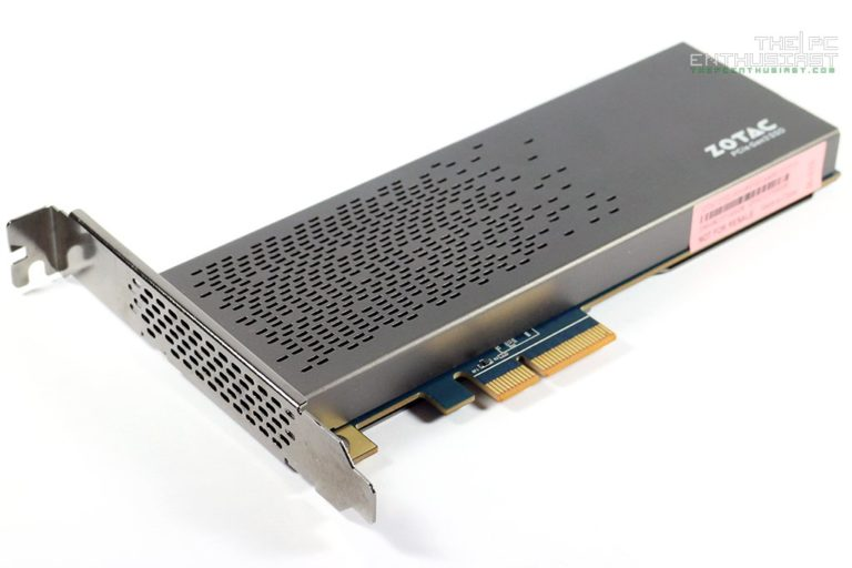 Zotac SONIX 480GB PCIe NVMe SSD Review