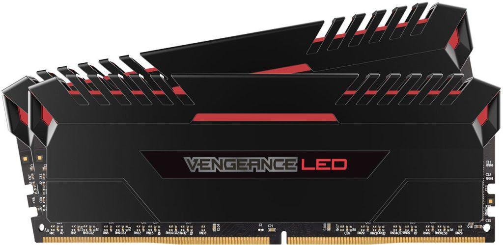 Corsair Vengeance LED DDR4 Red