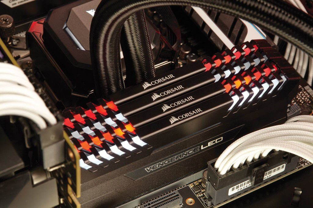 Corsair Vengeance LED DDR4 memory