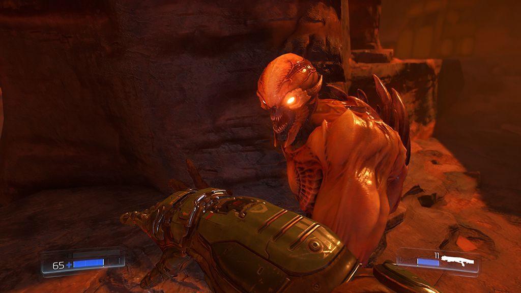 Doom 2016 on Vulkan benchmark with PresentMon