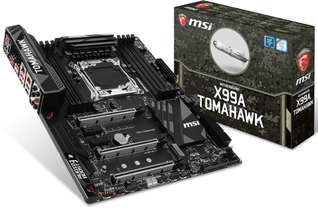 MSI X99A Tomahawk motherboard-04