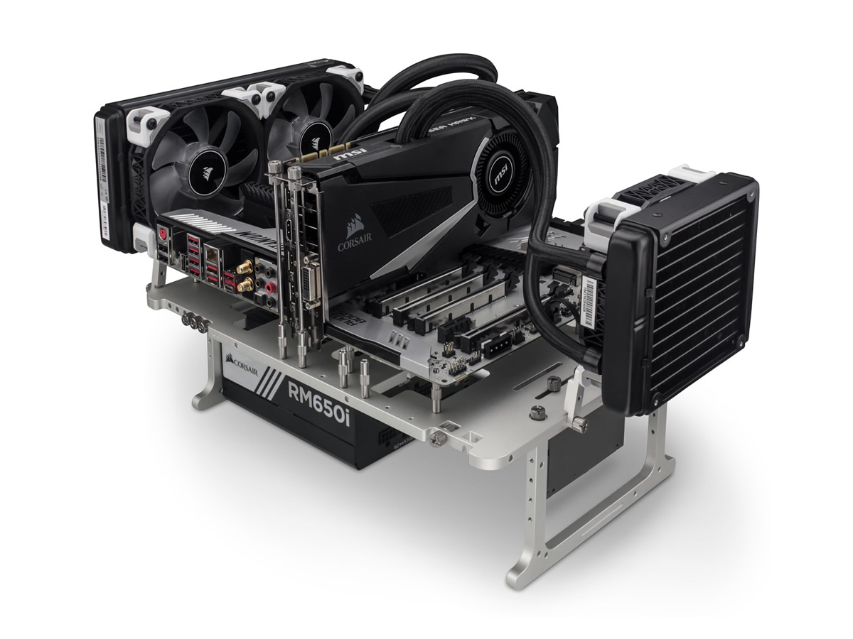 Streacom Bc1 Open Benchtable Released Compact Tool Less
