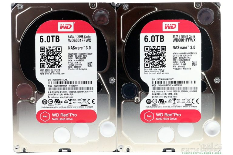 WD Red Pro 6TB NAS Hard Drive Review (WD6001FFWX)