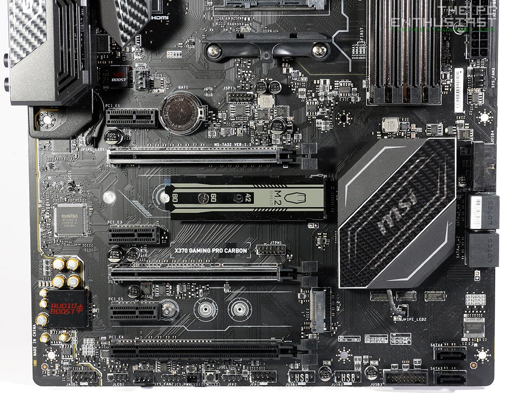 MSI X370 Gaming Pro Carbon AM4 Motherboard Review - Page 2